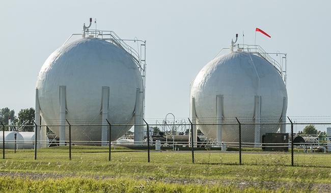 Spherical Storage Tank Swanton Welding