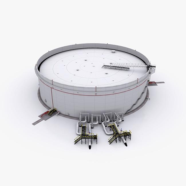 Floating Roof Storage Tank Swanton Welding