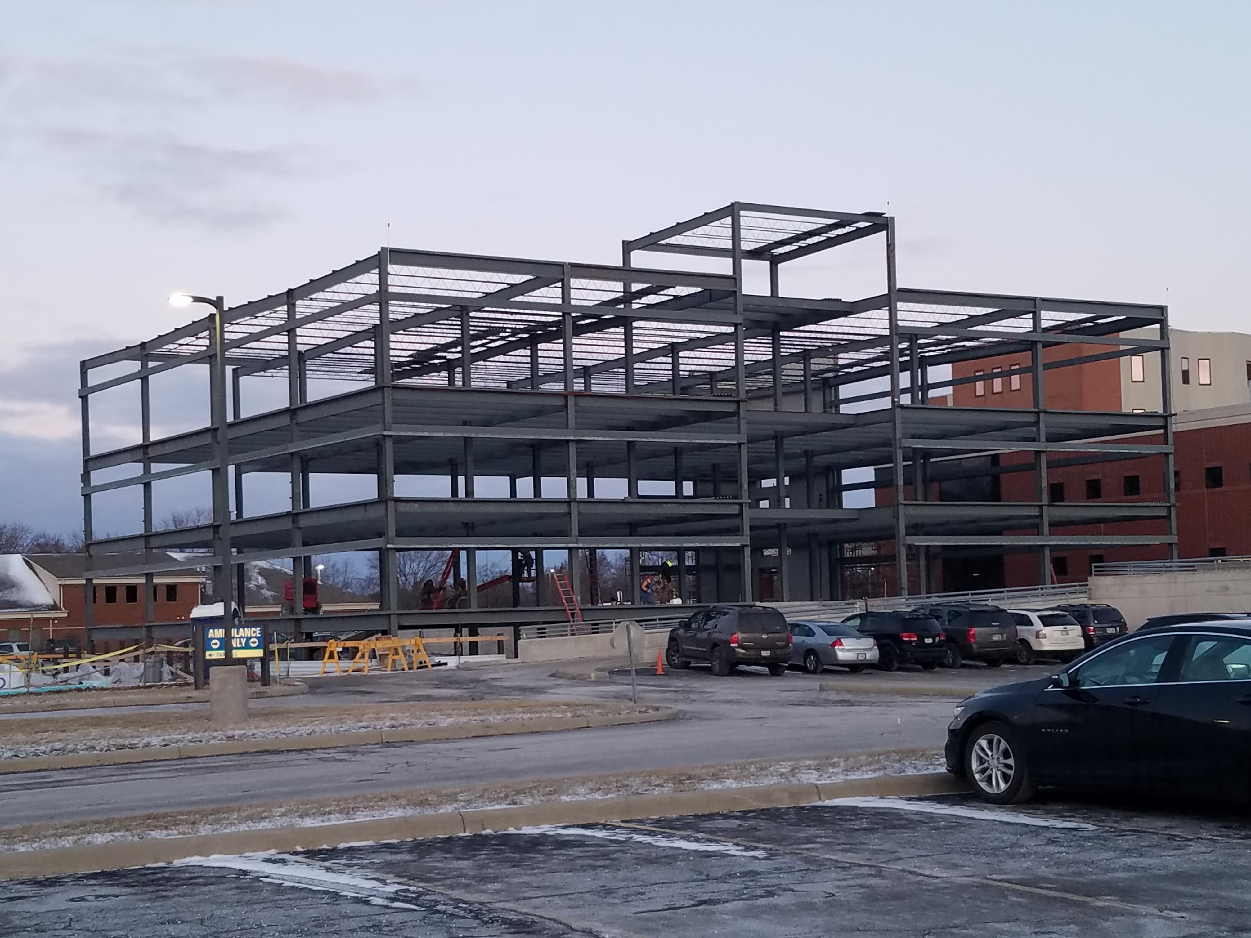 Project Spotlight: Fulton County Hospital Office Addition Swanton Welding